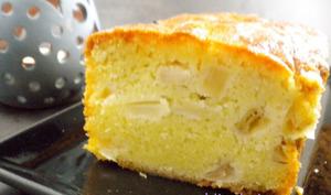 Mon cake moelleux pommes-calva