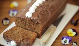 Cake potiron noisettes