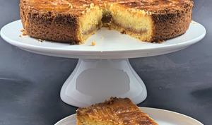 Le gâteau breton au caramel au beurre salé