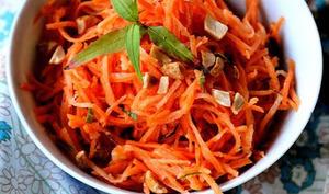 Salade de carottes aux saveurs vietnamiennes