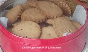 Petits biscuits sablés aux amandes