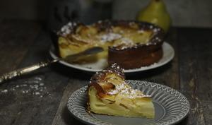Gâteau tourangeau aux poires