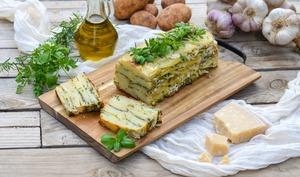 Terrine de pommes de terre et fines herbes