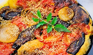 Tarte tatin de légumes