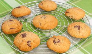 Cookies chocolat cacahuètes