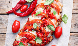 Tartine tomate mozza