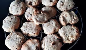 Cookies au beurre de cajou et farine de pois chiche