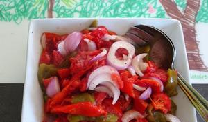 Salade de légumes grillés