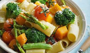 Jardinière de légumes et pâtes