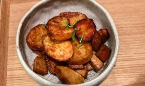 Pommes de terre et tofu fumé teriyaki