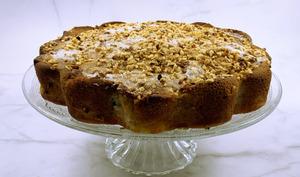 Gâteau moelleux d'automne pommes-noisettes