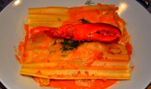 Lasagnes de homard
