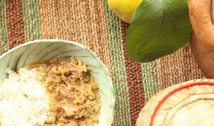 Curry de veau aux coings
