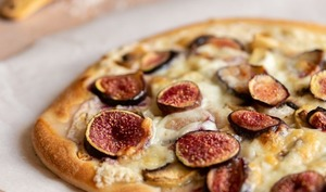 Pizza figues champignons