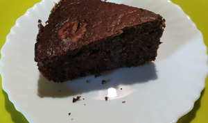 Gâteau aux noix - La table d'Hyssope