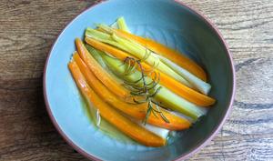 Légumes d'automne confits