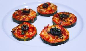 Rondelles de Courgette façon Mini Pizza