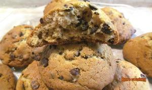 Cookies aux pépites de chocolat et à la compote de pommes