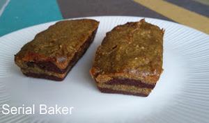 Marbré vegan chocolat et brocoli