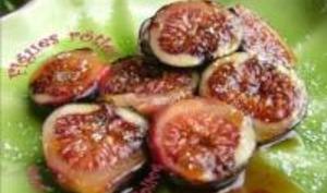 Figues Rôties sur Plancha à l'Huile d'Olive et au Miel