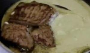 Filets de Bouf, Sauce Roquefort