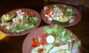 Fraîcheur d'Avocats en Salade