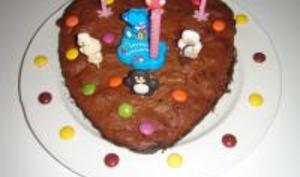 Gâteau Chocolat - Amandes
