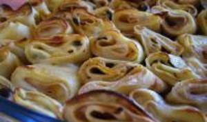 Gâteau de crêpes garnies