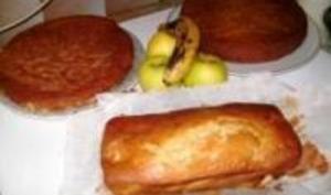 Gâteau Pommes / Bananes