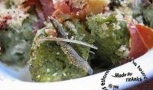 Gnocchis de Blettes et Ricotta à la Sauge