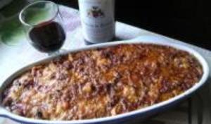 Gratin de Courge Spaghetti et Sauce Bolognaise