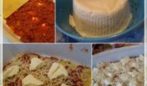 Lasagnes Bolognaises à la Brousse Bourdin