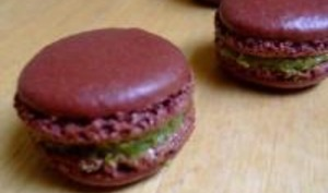 Macarons Pistache-Chocolat