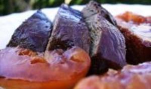 Magrets de Canard Laqué aux Pêches et au Miel