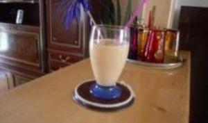 Milk Shake de Fruits au Sirop