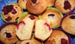 Mini-Muffins aux Groseilles / Copeaux de Chocolat