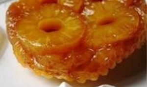 Mini Tatin d'Ananas au Rhum Ambré