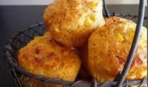 Muffins Maïs et Emmental