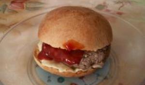 Pain à Hamburgers Maison
