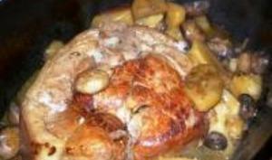 Palette de Porc aux Champignons Frais
