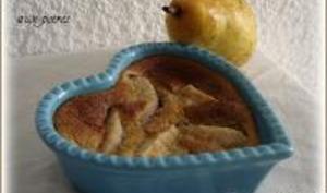 Petits Desserts Vanillés à la Poire