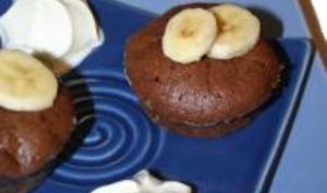 Petits fondants chocolat banane