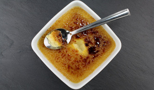 Crème brûlée au gingembre