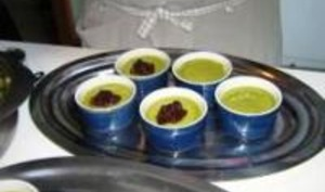 Pots de crème au Macha
