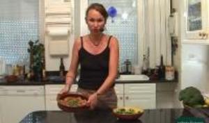 Poulet au rhum et aux brocolis