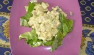 Salade d'Été aux Avocats et aux Pommes