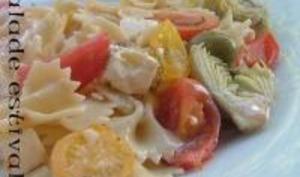 Salade Estivale aux Saveurs Italiennes