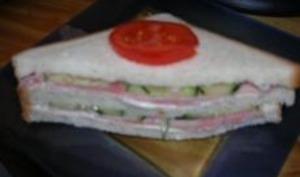 Sandwich Fringale au Concombre