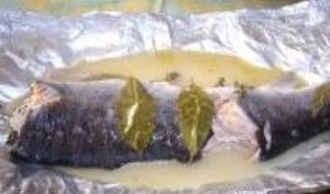 Saumon en Papillote à la Plancha