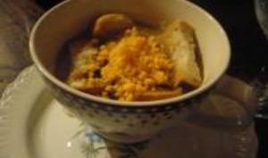 Soupe à l'Oignon et Mimolette
